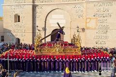 Nazareno Almucar (16) (Guion Cofrade) Tags: santa religion iglesia andalucia cruz fe cristo semana nazareno almucar jess pasion seor cofrade procesin pasin cofradia devocin cultos costalero