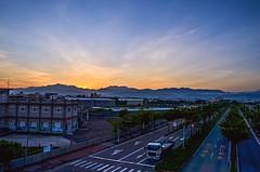 Early to work () Tags: truck sunrise nikon taichung