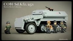 COBI Sd.Kfz. 251 (Kobikowski) Tags: berlin lego battle collection german transporter cobi 251 sdkfz