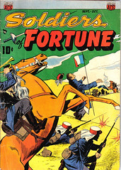Soldiers of Fortune 4 (Michael Vance1) Tags: foreignlegion soldiers french comics comicbooks cartoonist art artist anthology adventure