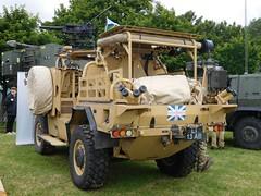 Jackal (goweravig) Tags: uk swansea wales army jackal vehicle british foreshore armoured swanseabay wnas16