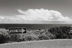One Way Forward (dualiti.net) Tags: ocean wallpaper white black nature beautiful sign clouds canon outside photography big view natural background country fluffy australia explore download 6d