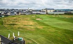 Golf scene from club house (TimoOK) Tags: ireland golf lahinch irlanti