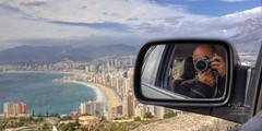 (191/16) Selfie sobre Benidorm (Pablo Arias) Tags: pabloarias espaa spain hdr photomatix nx2 photoshop nubes texturas cielo arquitectura selfie benidorm alicante comunidadvalenciana