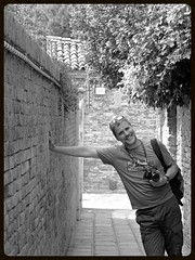 venice (gerben more) Tags: venice italy man me monochrome blackwhite photographer veneti