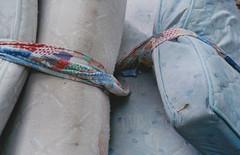 a found detail (ding ren) Tags: film analog found 35mmfilm tied analogphotography mattresses dingren