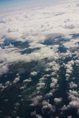 puffs of air (Jenna Pinkham) Tags: england flyover sky clouds