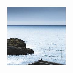 9325-11 (herv renaud) Tags: sea mer kite france art landscape photography eos surf fineart bretagne 64 sealand 5d kitesurf biarritz rivage ambiance atlantique sudouest eos5d pyrne saintlunaire hrenaudphotography herverenaud