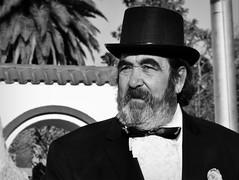 Patriota (gerardo.pozzoli) Tags: bn monocromtico argentina retrato sombrero esarapela moo galera barba traje frac colonial