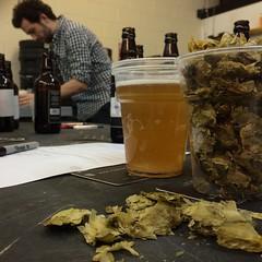 @aizlewood concocts his brew.