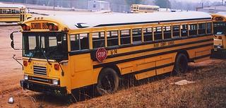 GEORGIA TC2000 BLUE BIRD BUS - TALBOT COUNTY SCHOOLS