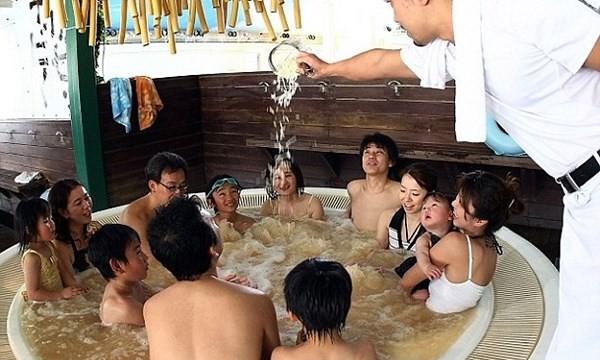 Loại hình spa này rất được người dân nơi đây yêu thích