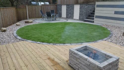 Landscape Gardening Macclesfield - Modern Family Garden Image 20