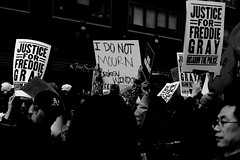 """""""I don't mourn broken windows"""" (Dren P) Tags: windows people broken 1 justice day labor crowd may police baltimore communism international labour riots protests racism socialism 46 wages"""