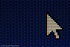 LED Screen (expand for more detail) (Zerker Studios/Photography) Tags: macro mouse screen led arrow