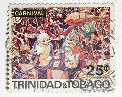 Trinidad Carnival Chinese Characters 25 cents (4)