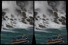 Niagara Falls 3-D / CrossView / Stereoscopy / HDR / Raw (Stereotron) Tags: 3d 3dphoto 3dstereo 3rddimension spatial stereo stereo3d stereophoto stereophotography stereoscopic stereoscopy stereotron threedimensional stereoview stereophotomaker stereophotograph 3dpicture 3dglasses 3dimage crosseye crosseyed crossview xview cross eye pair freeview sidebyside sbs kreuzblick hyperstereo twin canon eos 550d yongnuo radio transmitter remote control synchron in synch sigma zoom lens 70300mm tonemapping hdr hdri raw cr2 north america canada province lakeontario niagara waterfall cascade cataract falls water boat maidofthemist 100v10f