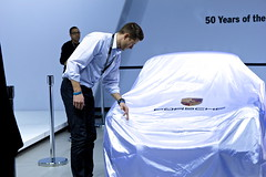 Larry at Porsche Unveiling
