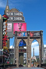 New York-New York (AntyDiluvian) Tags: vegas southwest hotel icons lasvegas nevada brooklynbridge empirestatebuilding statueofliberty newyorknewyork lasvegasboulevard lasvegasblvd