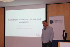 CSC Lecture Series: Climate change and citizens (Commonwealth Scholarship Commission in the UK) Tags: lecture 2015