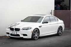 BMW F10 M5 - 02 (Van Luong Photography) Tags: auto white cars car sedan nikon european f10 bmw m5 source v10 18140 d7100
