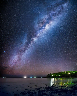 Coral Sea Milky Way
