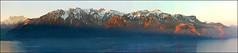Early morning, view on Alps from Montreux (Katarina 2353) Tags: panorama mountain alps film landscape switzerland nikon europe swiss montreux lacleman lakeofgeneva katarinastefanovic katarina2353