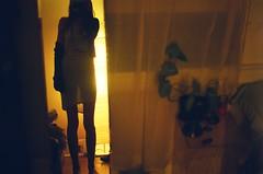 15800001 (slanted and enchanted.) Tags: light selfportrait girl mirror shine legs room sheer