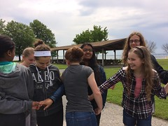 Human knot (KFiabane) Tags: annapolis sandypoint njhs