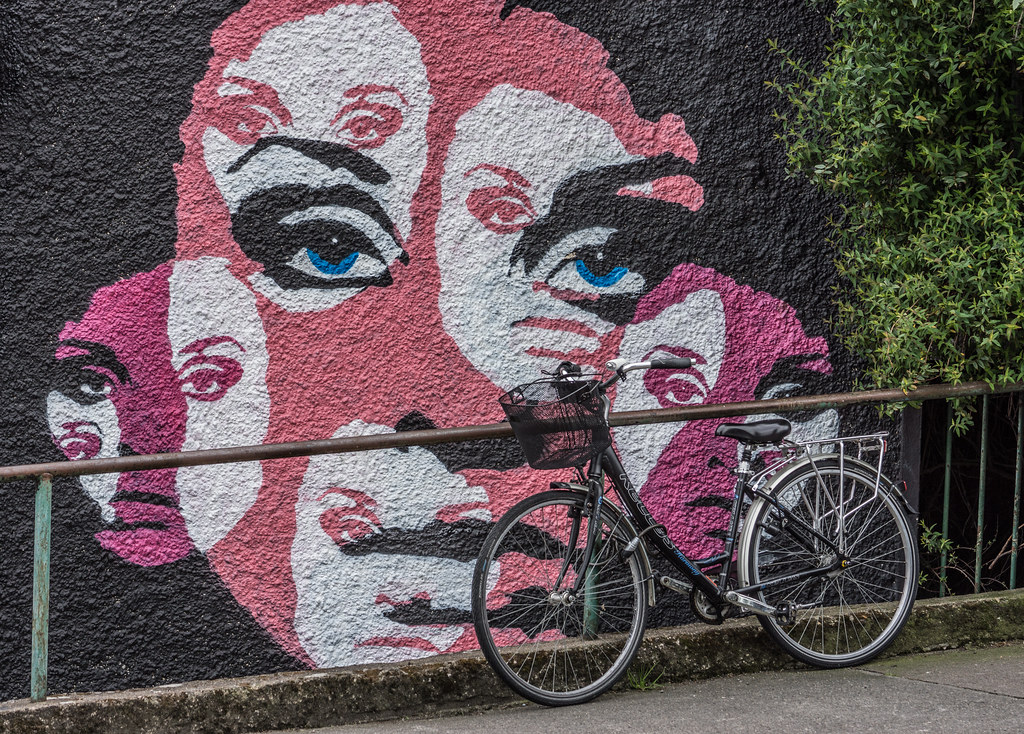 ABOUT A GIRL BY KEMP [WATERFORD WALLS PROJECT AT NEWGATE STREET]-116359