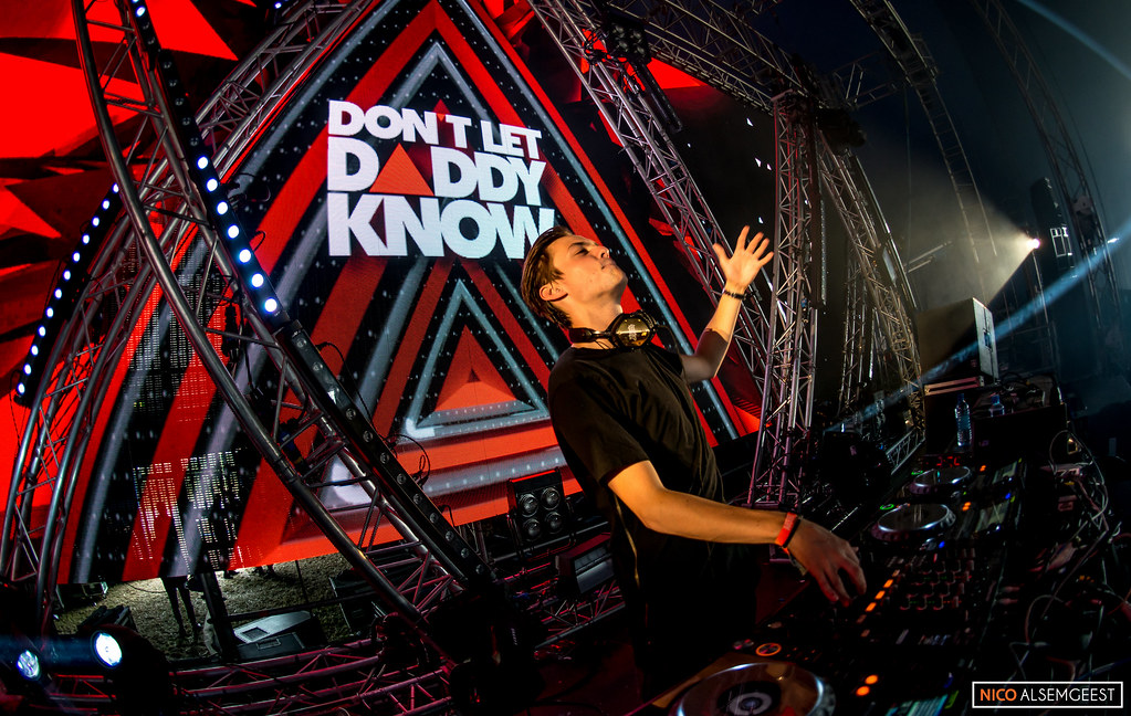 Julian Jordan @ Don't Let Daddy Know Creamfields 2015