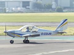 G-CDJR Eurostar EV97 (Aircaft @ Gloucestershire Airport By James) Tags: james airport eurostar gloucestershire lloyds ev97 egbj gcdjr