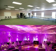 Awesome #transformation of this great #venue using #uplighting ! : #boardweddingbee (RentMyWedding) Tags: wedding party inspiration diy celebration event planning ideas weddingreception uplighting weddingplanner weddingideas diywedding dreamwedding weddinginspiration rentmywedding