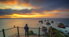 Nuggets Point (Arief Rasa) Tags: sea newzealand cliff seascape beach rock sunrise dawn cloudy platform nz nuggets selfpotrait cloudscape caitlins sunsetsunrise selfie rockyshores dawndusk fastclouds nuggetspoint nuggetspointlighthouse