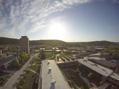 Aerial images of Binghamton University (BinghamtonUniversity) Tags: usa ny vestal aerials 2015 buildingsandfacilites