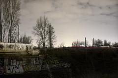 csompont (TheMutantCow / MutnsTehn) Tags: city railroad urban night train hungary capital budapest rail rails este railways buda pest vonat jszaka vast zugl csompont xivkerlet