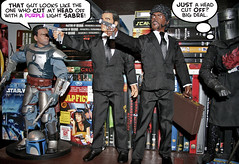 Jango-PulpFiction-BK (brebro) Tags: fiction black john star action jackson figure knight l python pulp jules wars vega samuel vinnie monty jango fett travolta