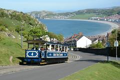 Great Orme Tramway 15/05/2016 (Brad Joyce 37) Tags: blue sea sunshine wales 4 tram cable llandudno greatormetramway tygwnroad