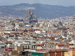 The view from Montjuc (stillunusual) Tags: barcelona travel urban landscape spain cityscape bcn streetphotography catalonia catalunya sagradafamilia montjuic montjuc urbanlandscape sagradafamlia urbanscenery 2016 travelphotography travelphoto travelphotograph