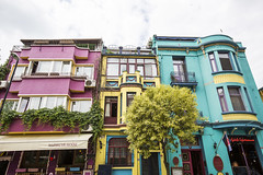 sultanahmet homes (eb78) Tags: istanbul turkey middleeast fatih architecture sultanahmet travel