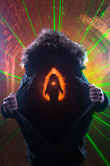 Insider.  141-366. (FadeToBlackLP) Tags: longexposure orange lightpainting green silhouette canon fire lightsandshadows soft peakdistrict tokina laser lime kiln softbox parka insider hooded lightart monsaltrail monsal modifier vape longexposurephotography thedarkpeak 1116mm lpwa vapeart lightpaintingworldalliance