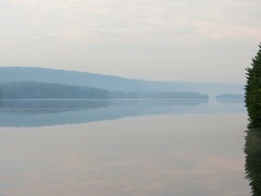 2016 Barkhamsted, CT (murphman61) Tags: morning lake dam connecticut newengland ct reservoir hazy humid farmingtonriver