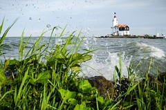 marken2 (petdek) Tags: lighthouse netherlands movement nl splatter marken noordholland