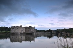 Leeds Castle at dusk (Graeme_Smith) Tags: uk sunset sky lake castle water night clouds kent spring nikon dusk leeds peaceful calm filter tranquil graduated cokin d7000