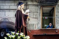 Naples 2016 (michele liberti) Tags: italy window women religion streetphotography social napoli procession devotees naple streetcolor sacroeprofano santafrancesca questaèlamiacittà photosocial photojrnalism