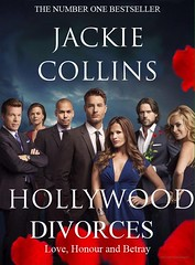 Jackie Collins Y&R inspired ad. Hollywood Divorces (CandyGalore1) Tags: jackie collins hollywood divorces yr inspired promo