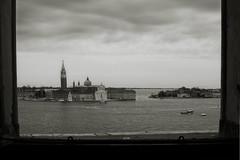 VENECIA- SAN GIORGIO MAGGIORE (KZRES - Jos Miguel Romero) Tags: bw san iglesia maggiore laguna turismo venecia venezia giorgio cuadro virado platino