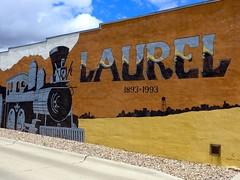 Laurel 1893-1993 mural (ali eminov) Tags: centennial nebraska paintings murals celebrations laurel centennialmural
