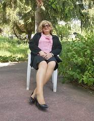 2016 - 05 - 31 - Karoll  - 007 (Karoll le bihan) Tags: feminine femme lingerie crossdressing tgirl transgender transvestite stocking bas pantyhose crossdress stilettos travestis feminization travesti travestie escarpins fminisation travestisme travestissement