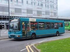 Arriva Derby 2718 Bus Station (Guy Arab UF) Tags: bus buses station derbyshire wright derby cadet daf arriva sb120 2718 y358uon